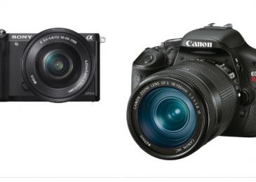 Sony a5000 vs Canon 600D – Extensive comparison