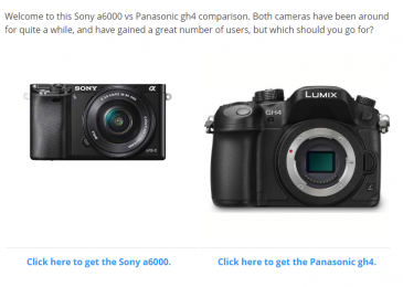 Sony a6000 vs Panasonic gh4 – Which Should You Go For?