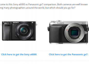 Sony a6000 vs Panasonic gx7 – Extensive Comparison